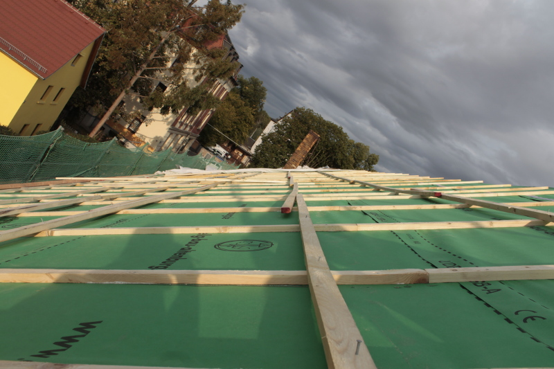 Abgedecktes Dach